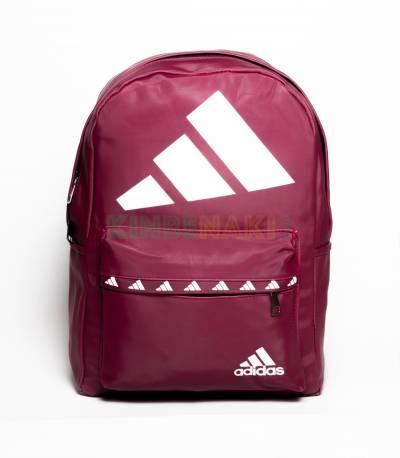 Adidas Big Logo Maroon Backpack