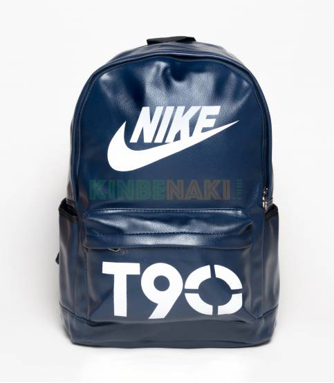 Buy Nike T90 Blue Color PU Leather Backpack In Bangladesh c17d5925fc