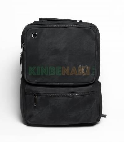 HALMABISON Black Backpack