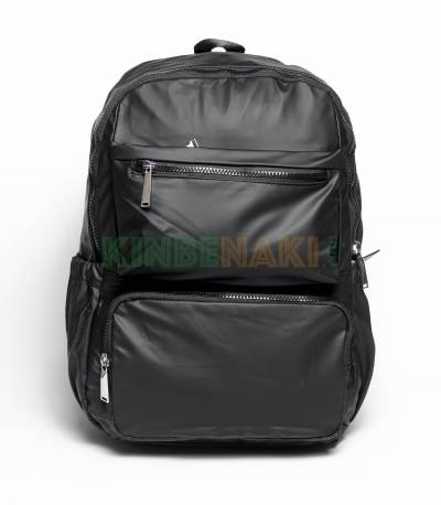 Fortune Multi Pocket Black Color Backpack