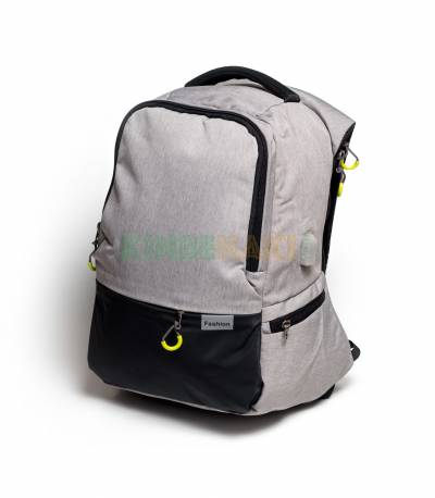 Fashion Anti Theft Gray Backpack