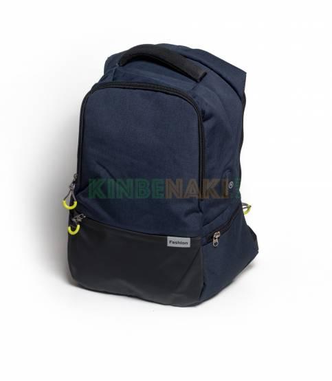 Fashion Anti Theft Black Backpack