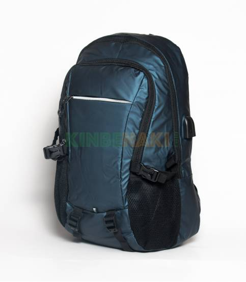 Xin Yuan Multi Functional Royal Navy Waterproof Backpack
