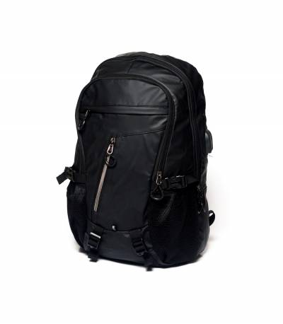Xin Yuan Multi Functional Black Waterproof Backpack