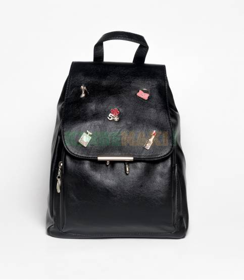 Lovely Girl Black Mini Backpack