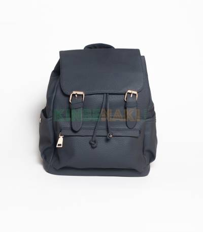 Hoodie Dark Blue Girls Mini Backpack