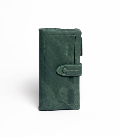 Fuerdanni Leather Green Wallet V2