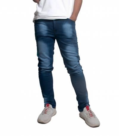 Navy Blue Denim Jeans Pant for Men