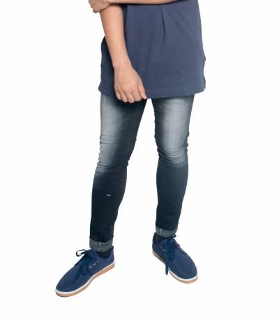 Slim Fit Black Denim Jeans For Men