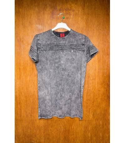 Mufti stride Grey T-Shirt