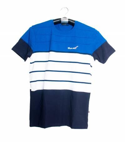 Fair Tex white and blue T-Shirt