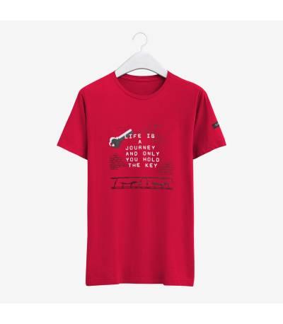 Fair Tex white design T-Shirt