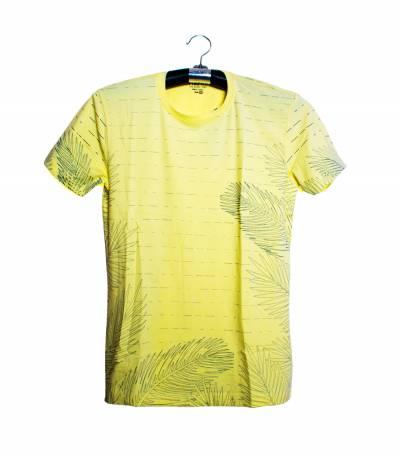 Fair Tex Yellow Floral T-Shirt