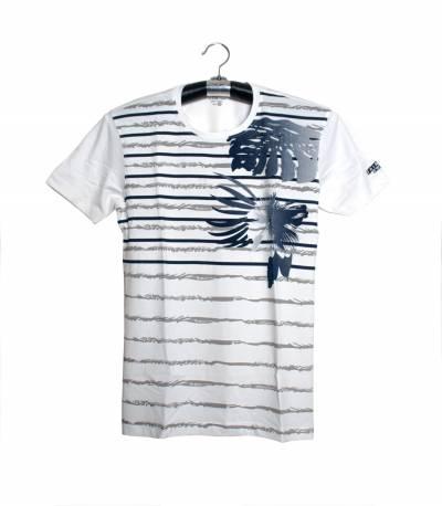 Fair Tex White Floral design T-Shirt