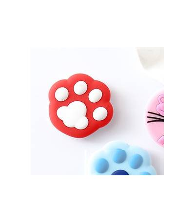 Air Bag Cell Phone Bracket red and white foot stap Finger Holder