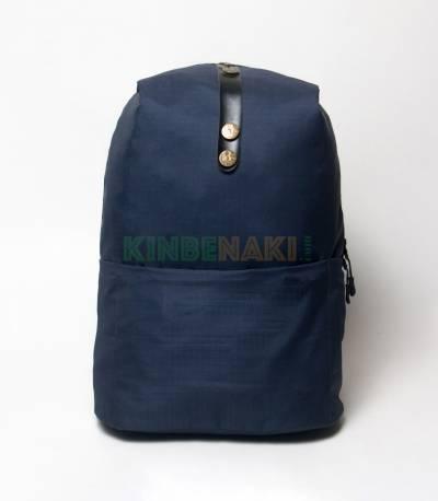 Man Best Button Deep Navy Blue Backpack