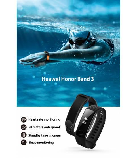 HUAWEI Honor Band 3 Smartband - Black