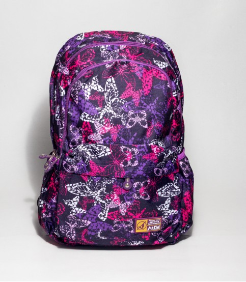 A&EM Multicolor Butterfly Backpack