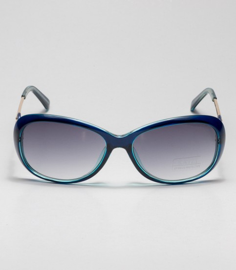 Kaizi Blue Frame Ladies Sunglass