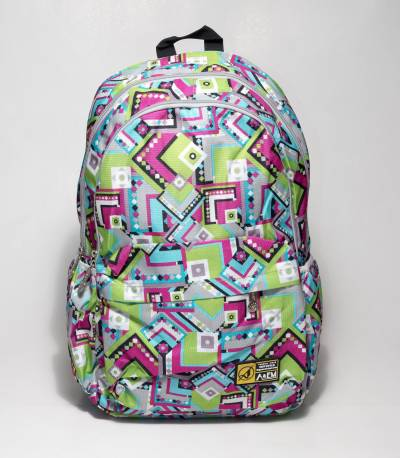 effb64b576af Buy Xike Madi Multi Color Leaf black Backpack In Bangladesh