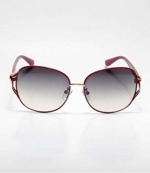 Gucci Chocolate Frame Oval Ladies Sunglass