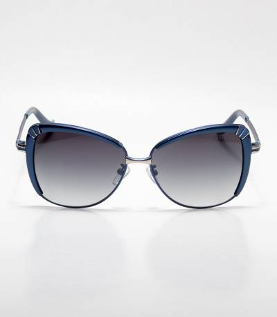 GUCCI Cat-eye Blue Ladies Sunglass