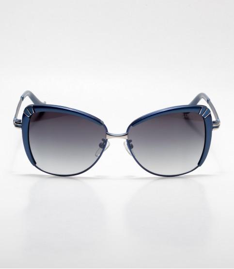 GUCCI Cat-eye Blue Ladies Sunglass