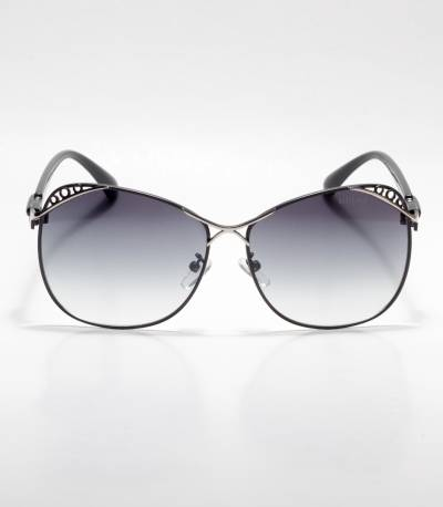Gucci Designed Frame Black Ladies Sunglass