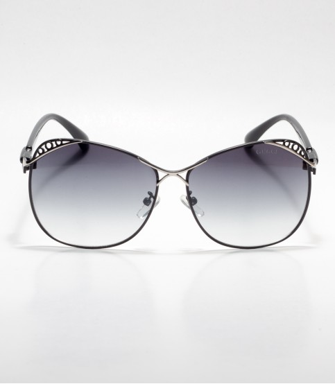 Gucci Designed Frame Black Ladies Sunglass