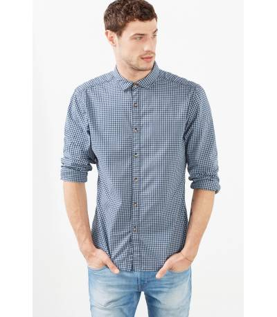 EDC Esprit Sky Blue Check Shirt