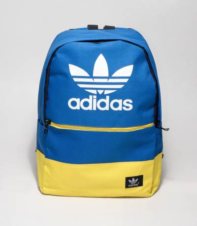 Adidas Blue And Yellow Color Backpack