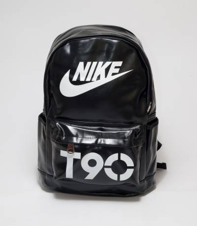 Nike T90 Black Color Rexine Backpack