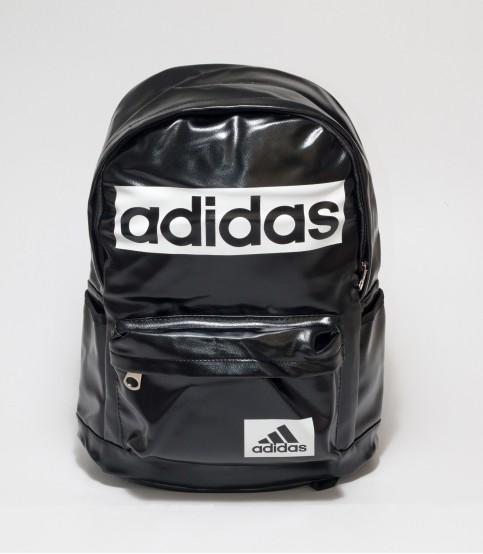 Adidas Black Color Rexine Backpack