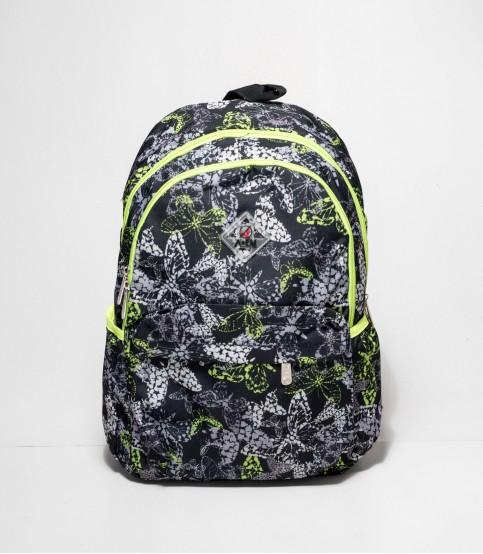 A&EM Black Color Butterfly Backpack
