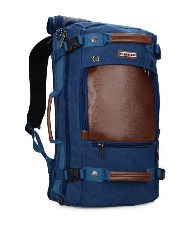Witzman Men's Blue Travel Backpack