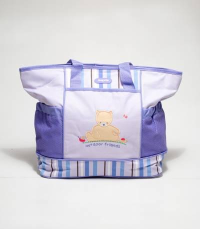 Angelo Bear Violate Color Baby Diaper Bags