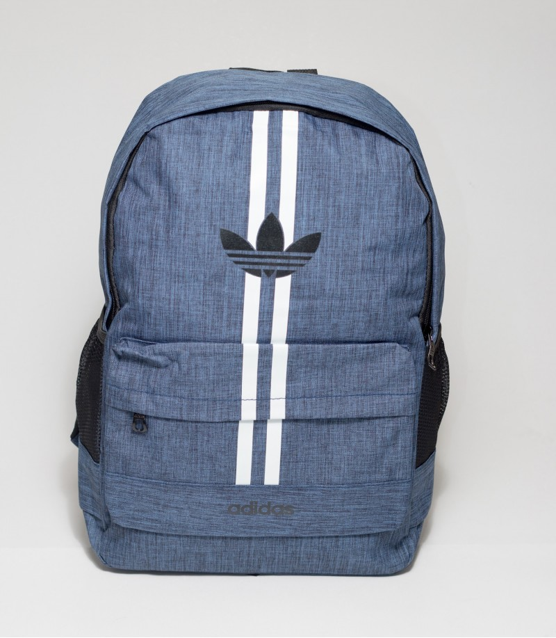 d14aceb22c76 Buy Adidas Double Stripes Blue Color Backpack in Bangladesh
