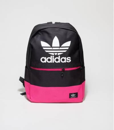 Adidas Black And Dark Pink Color Backpack