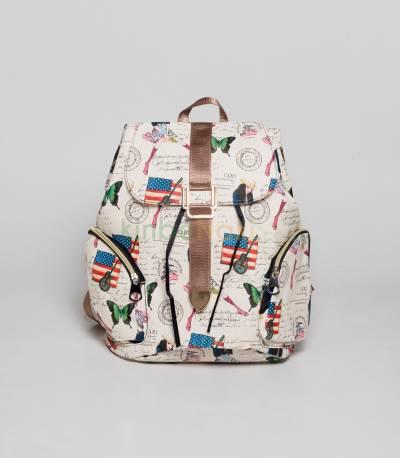 USA And Guitar Backpack