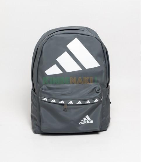Adidas Big Logo Gray Backpack