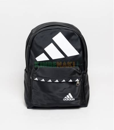 Adidas Big Logo Black Backpack