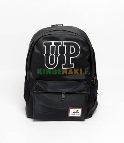 Shengzhe Up Black Backpack
