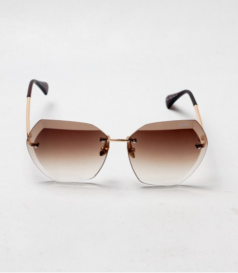 Carlier Light Brown Color ladies sunglass