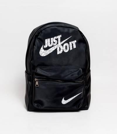 Nike Just Do It Black Backpack