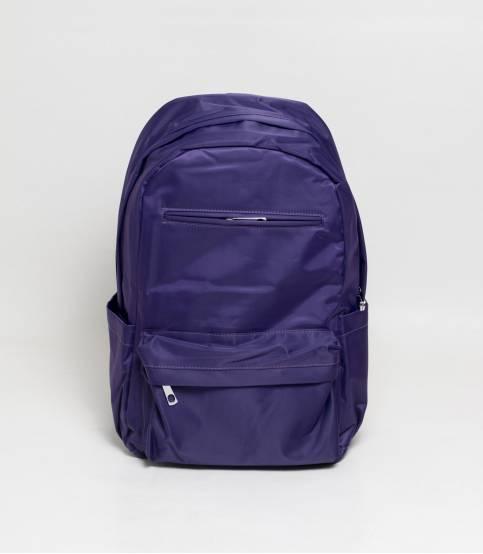 Fortune Purple Color Waterproof Backpack