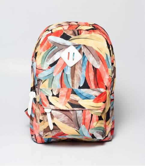 Floral Multicolor Printed Backpack