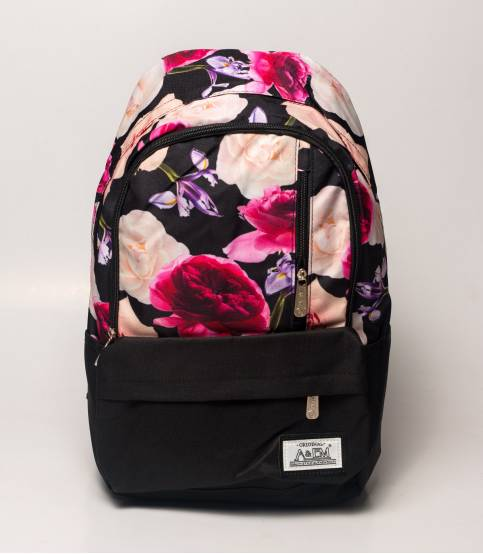 Buy Xike Madi Pink Color Floral Girls Backpack in Bangladesh 16386bf7a9