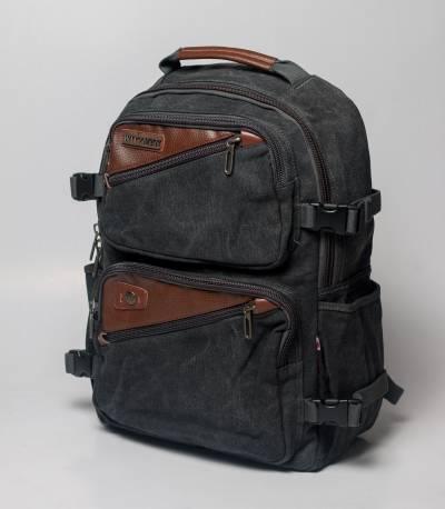 Witzman Stylish Casual Black Backpack