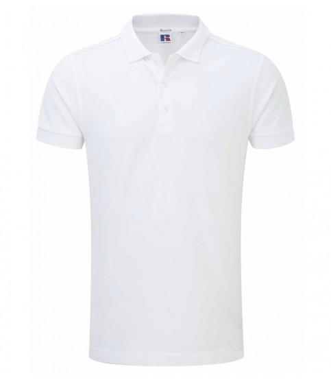 White Polo Shirt For Man