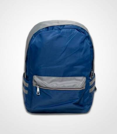 Fortune Double Stripe Blue Backpack